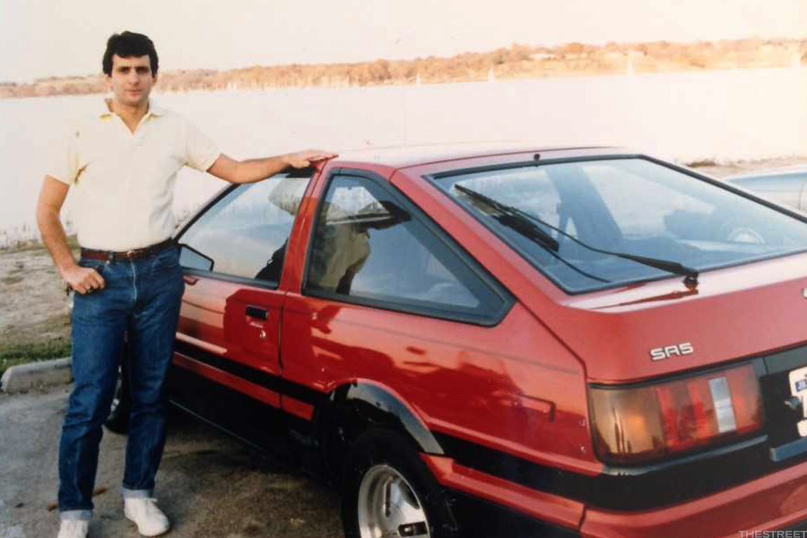 "Steve drove that ""beloved"" 1984 Toyota Corolla SR5 until 1993 and nearly 200,000 miles."