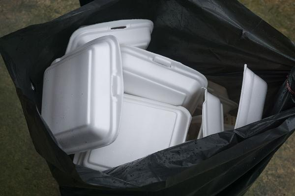 9. Foam Take-Out Containers