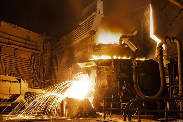 Nucor Could Forge a Rally in the Weeks Ahead