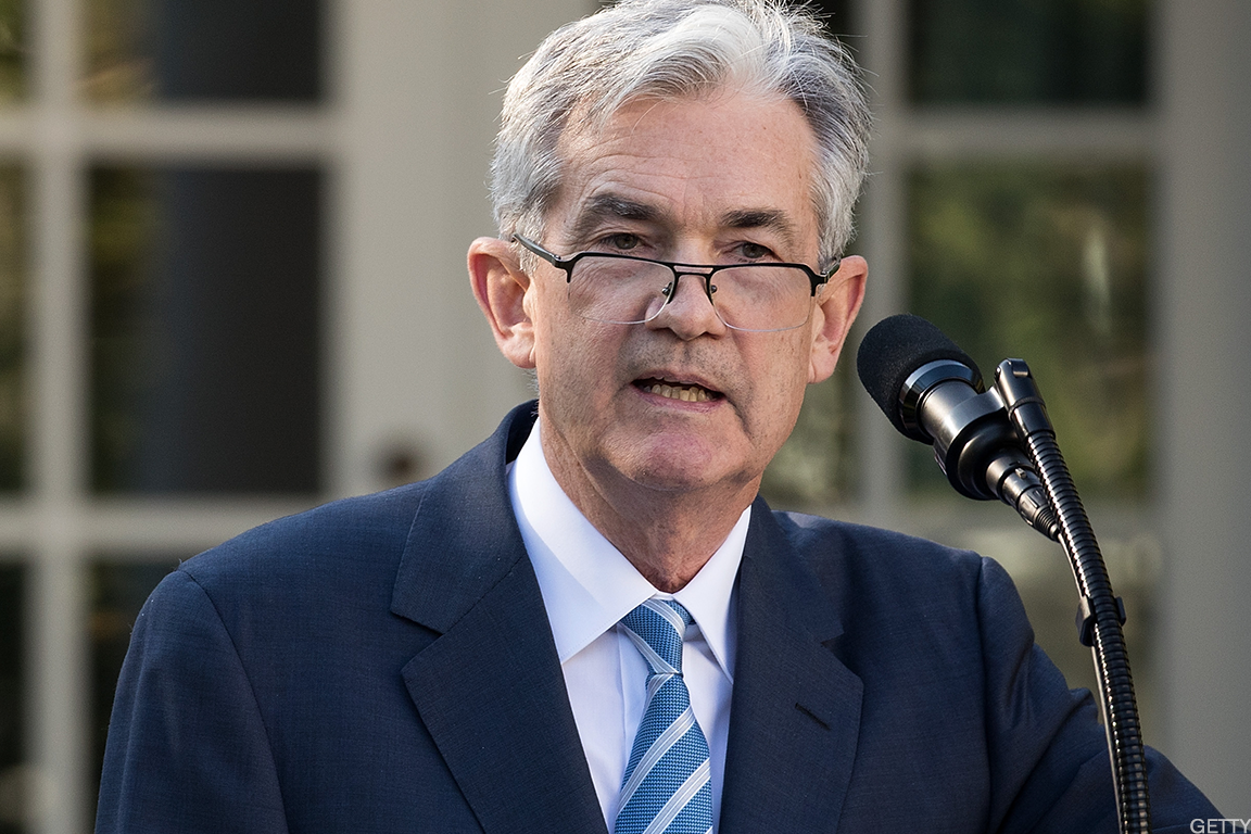 Jim Cramer says signs are pointing to growing confidence in the U.S. economy, and incoming Federal Reserve chair Jerome Powell can help by boosting lending.