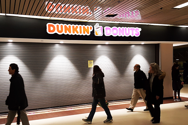 NYC Health Department Shut Dunkin' Donuts in Port Authority Down for Operating Without a Permit