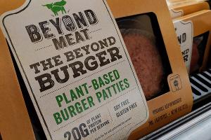 Beyond Pricey? Our Reporters Try the Beyond Meat Burger, Talk Business Model