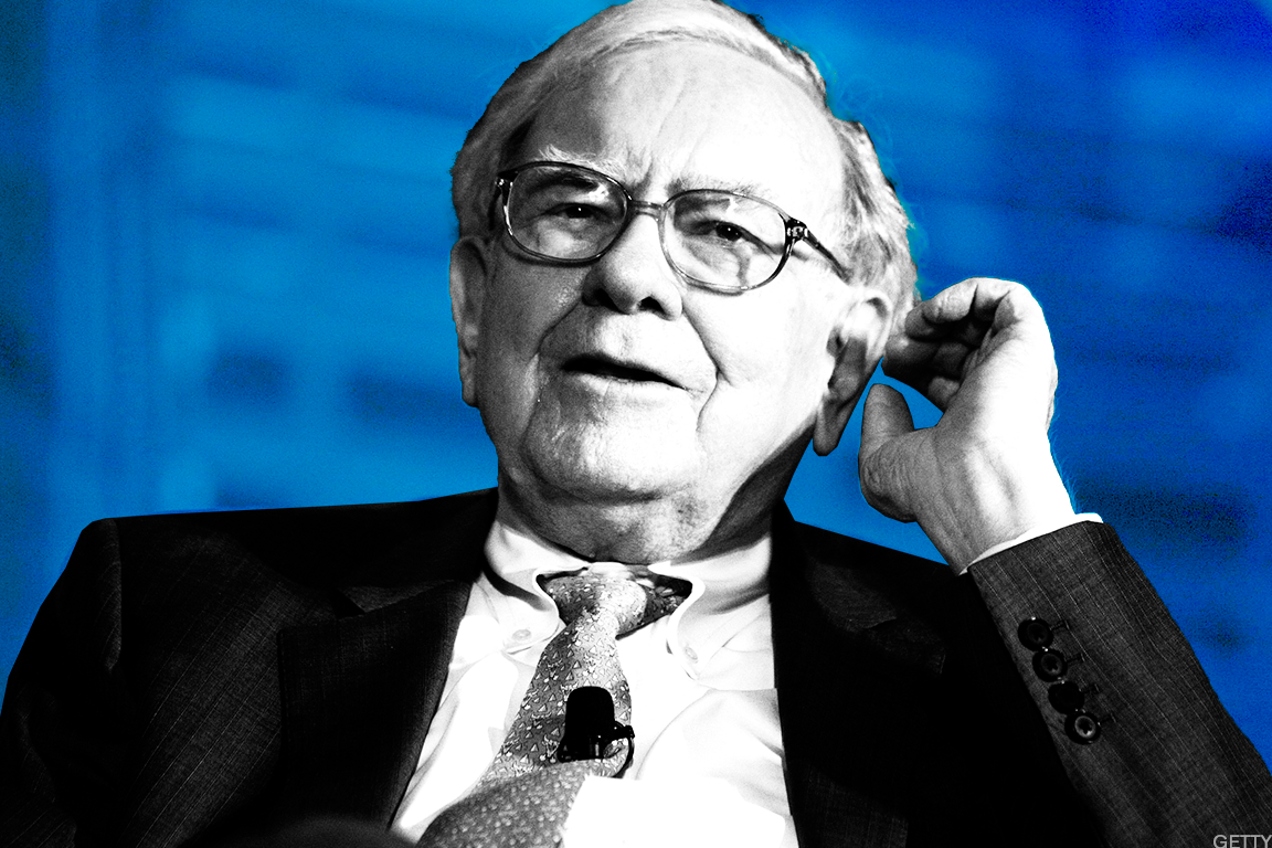 Billionaire Warren Buffett.
