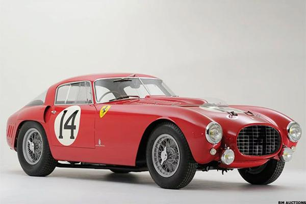 9 of the 10 Most Expensive Cars Ever Sold Are Ferraris