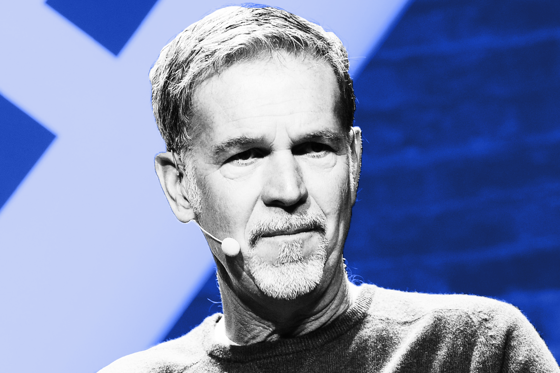 Would Netflix founder Reed Hastings sell to Microsoft?