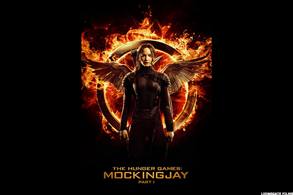 3. The Hunger Games: Mockingjay -- Part 1