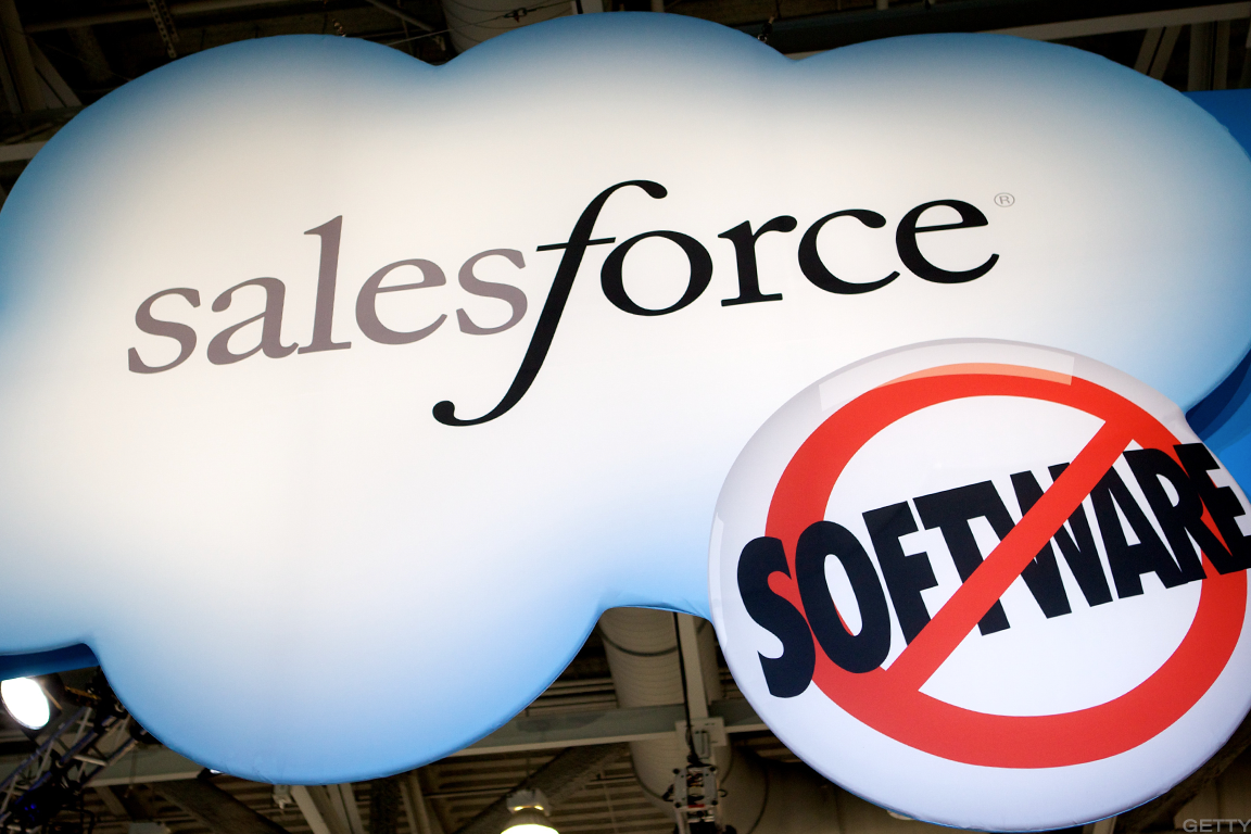 Image result for Software stocks slide ahead of Salesforce earnings