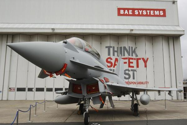 BAE Systems Confirms 2,000 British Job Cuts as Typhoon Jet Production Slows