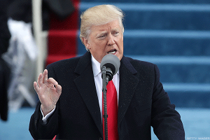 Trump Appeals to 'America First,' Economic Populism at Inauguration