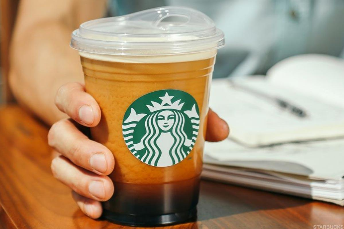 The new Starbucks cup that doesn't require a straw.