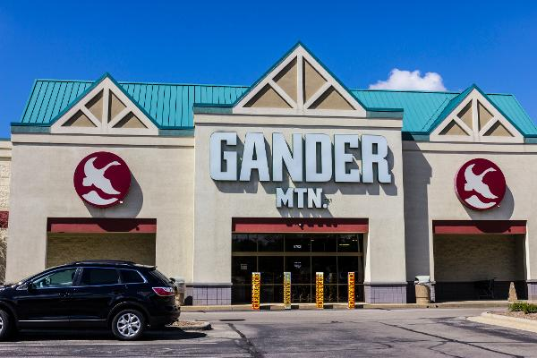 Gander Mountain has gone bust.