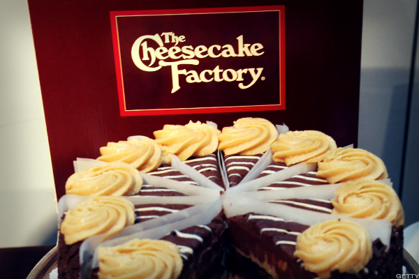 Cheesecake Factory Could Correct Before Making New Highs