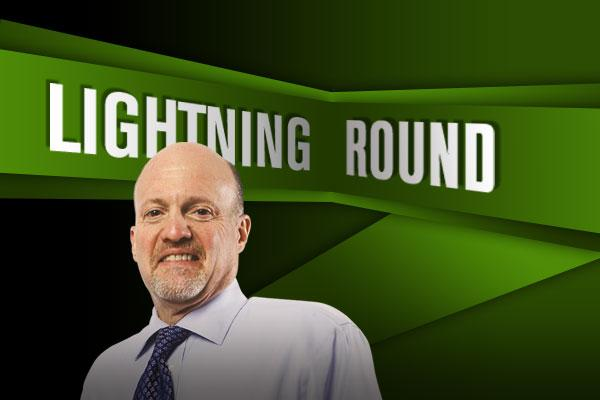 'Mad Money' Lightning Round: UnitedHealth May Be the Dow's Best Stock