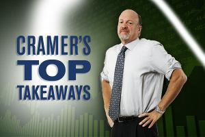 Jim Cramer's Top Takeaways: Valeant, Kimco Realty, Simon Property Group, Integrated Device Technology