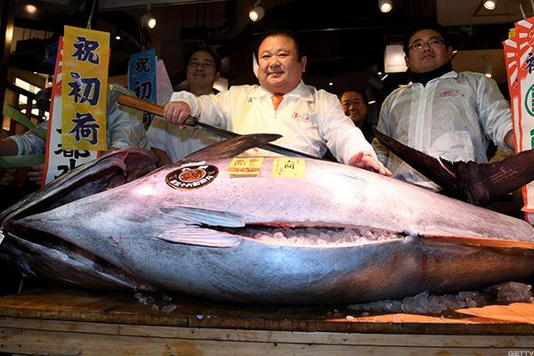 Someone in Japan Paid a Mind-Blowing $624,000 for a Giant Tuna, and That's a Great Economic Sign