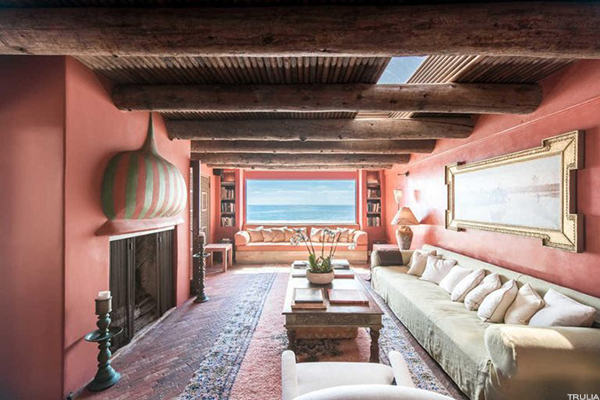 Sting's Malibu beach house