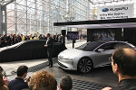 Tesla Clone Lucid Motors Unveils EV Prototype as It Searches for Capital