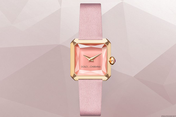 Dolce & Gabbana Sofia Pink Gold Watch
