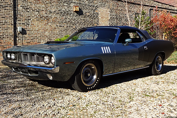 1. 1971 Plymouth Barracuda