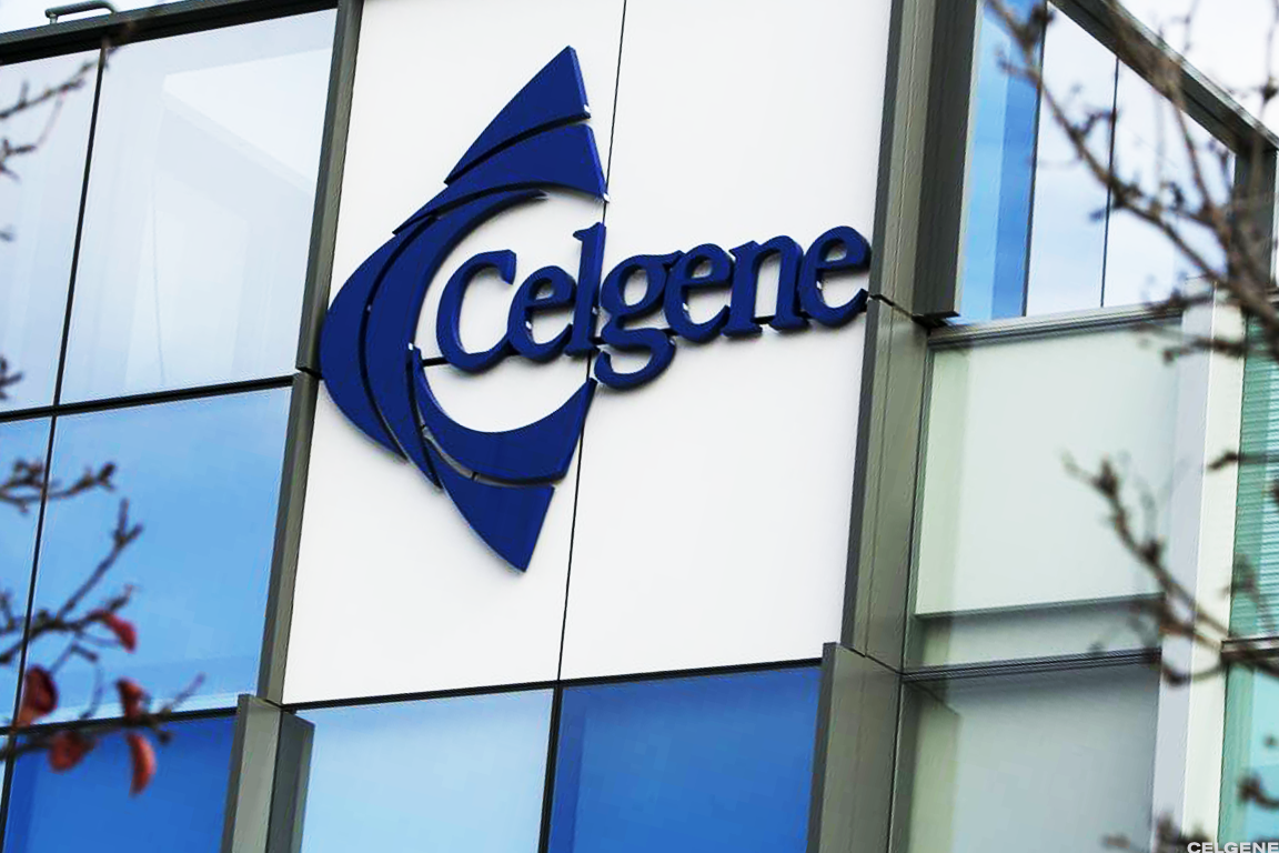 Celgene stock tumbled 9% Wednesday after regulatory problems arose for its key experimental multiple-sclerosis drug.