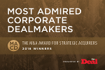 The Most Admired Corporate Dealmakers in a Record Year