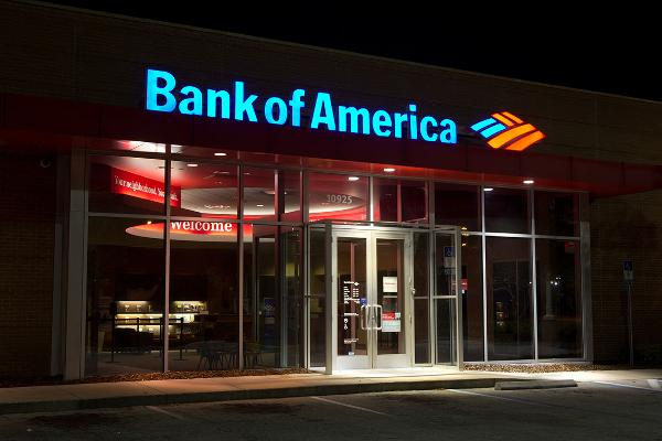 12. Bank of America