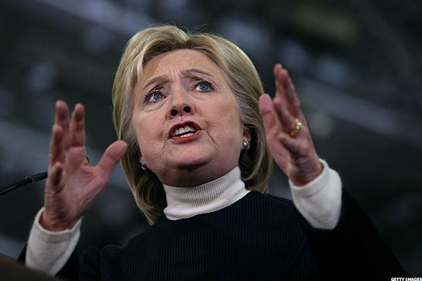 Hillary Clinton Stock Portfolio Stumbles as Questions Continue Over Clinton Foundation, Emails