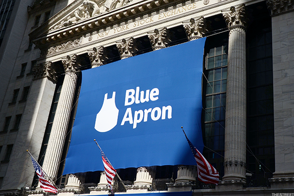Blue Apron IPO day.
