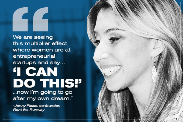 Rent the Runway Co-Founder Jenny Fleiss: It's so exciting to build a startup again