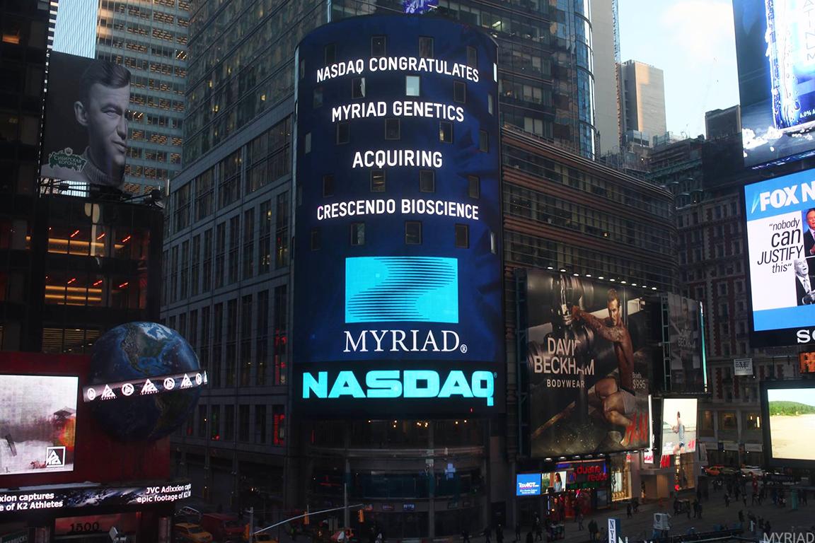 Myriad Genetics Sinks on Fourth-Quarter Earnings and Revenue Miss