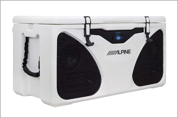 Alpine Ice In-Cooler Entertainment System