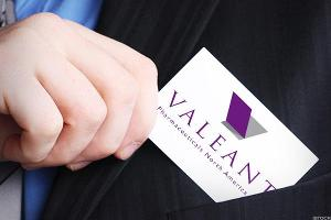 Valeant Closes Down Slightly After Completing Refi