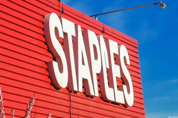 Sycamore Closes in on Deal to Acquire Staples -- Stock Explodes Higher
