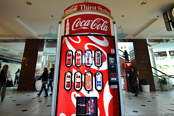 Coca-Cola beats estimates, barely.