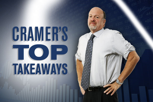 Jim Cramer's Top Takeaways: Wayfair, Valeant Pharmaceuticals, DexCom, AMN Healthcare