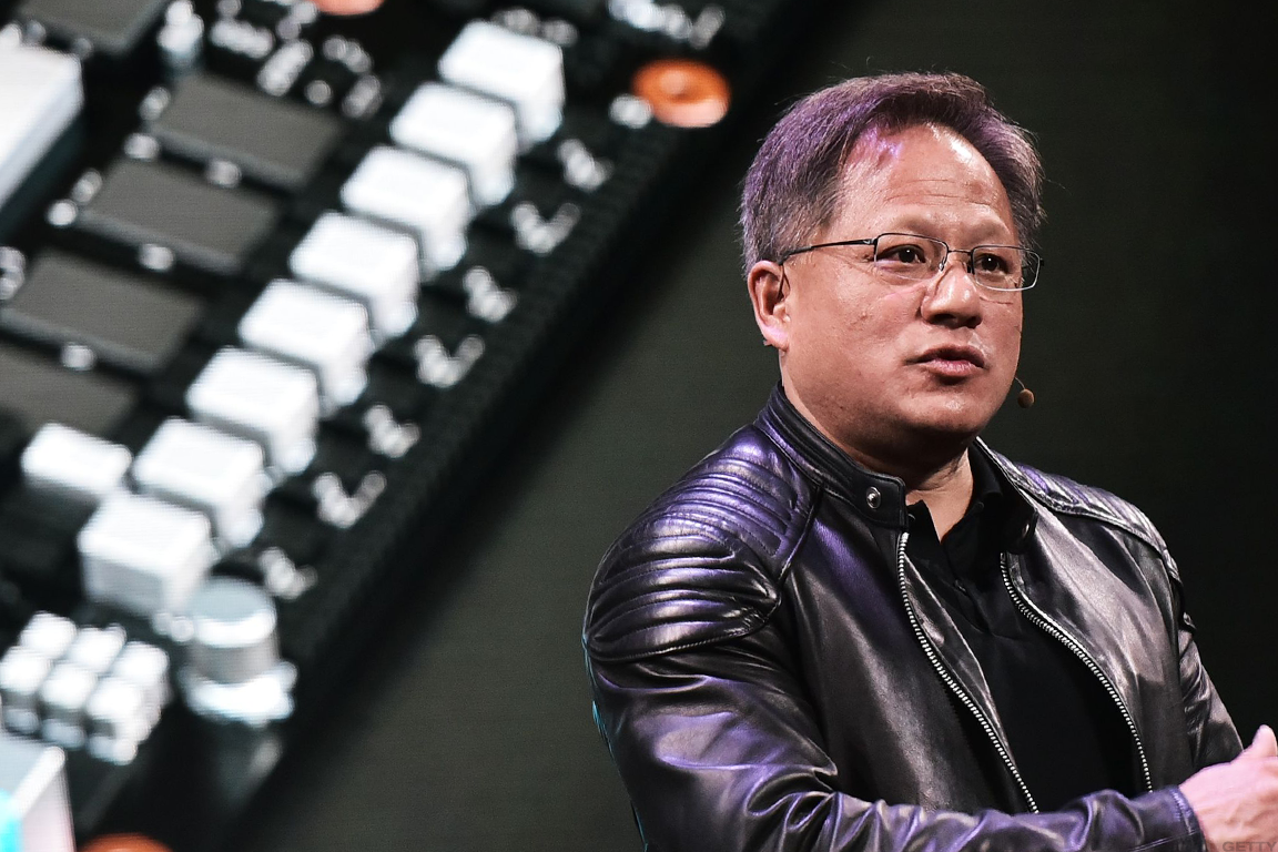 Nvidia CEO Jensen Huang couldn't prevent a bearish tone on Wall Street after earnings.