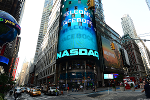 Facebook Leads Nasdaq Higher, Wall Street Opens at Records