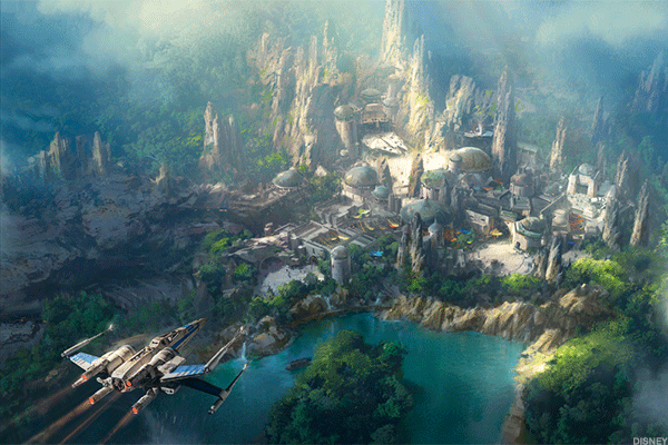 Disney Gives First Glimpse of Its 'Star Wars' Land