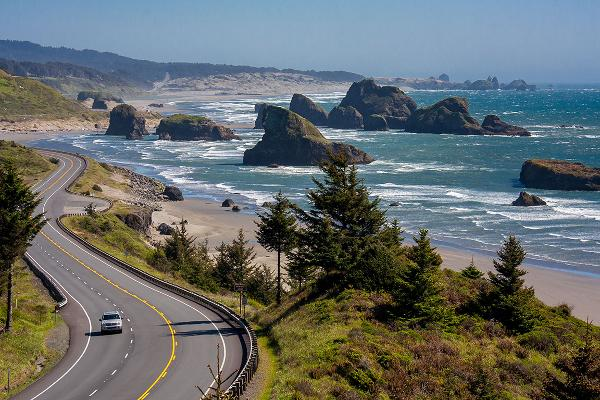 Best States to Drive: 1. Oregon