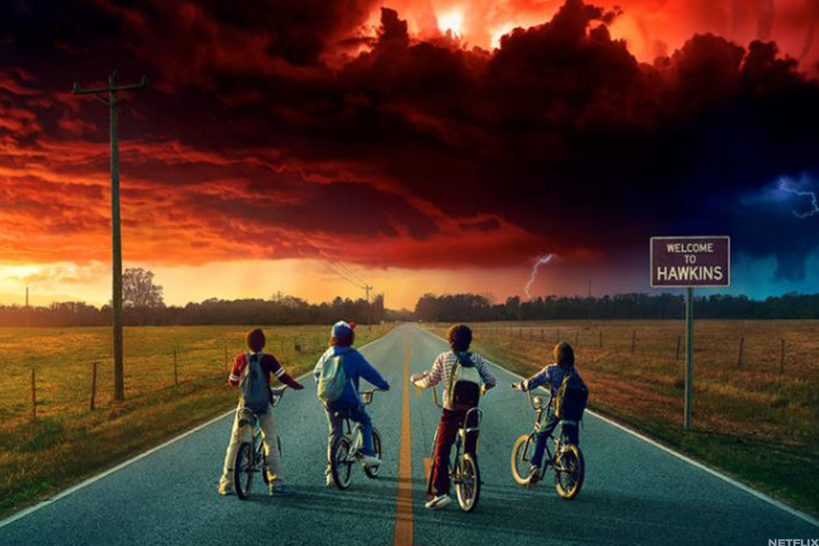 Netflix's hit original series 'Stranger Things.'
