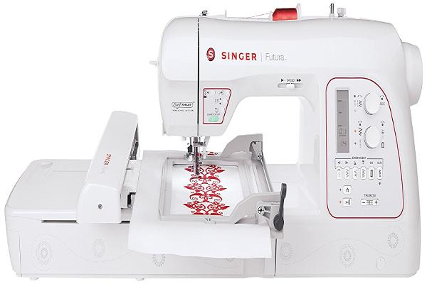 4. Singer XL-580 Futura Embroidery and Sewing Machine