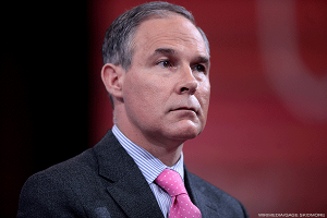 Trump's EPA Pick, Oklahoma AG Scott Pruitt, Is Currently Suing the Agency