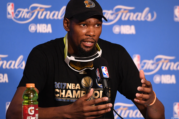 NBA Superstar Kevin Durant Explains His Approach to Investing in Startups