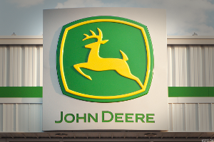 Buy Deere Down to Its Value Level on Friday's Price Gap Lower