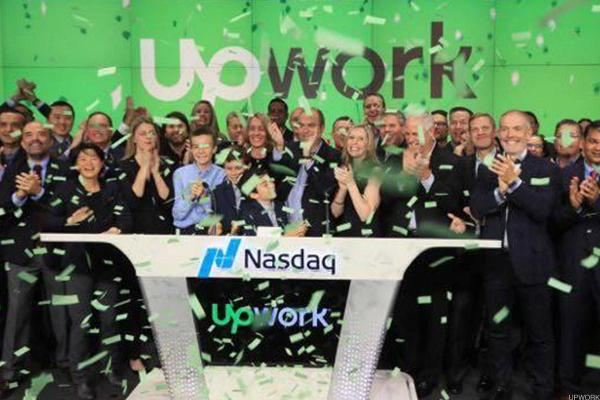 Upwork Shares Are Breaking Out Higher Today