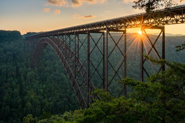 West Virginia's Midland Trail and the New River Gorge