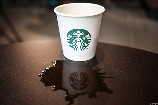 Starbucks hopes to clean up later this year.