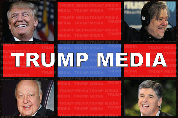 Here's How Stephen Bannon and Roger Ailes Could Actually Launch Trump Media
