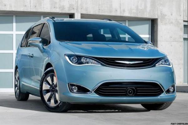 2. 2017 Chrysler Pacifica