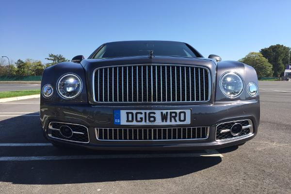 What It's Like Driving a New $405,000 Bentley Super Car